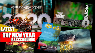 Happy new year 2020 backgrounds hd