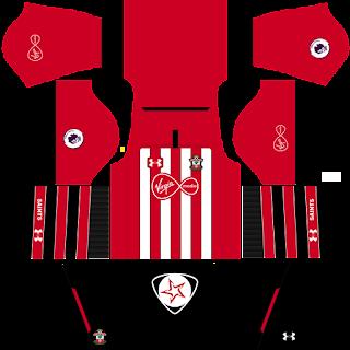 Southampton FC 2018 - 2019 Home Kit