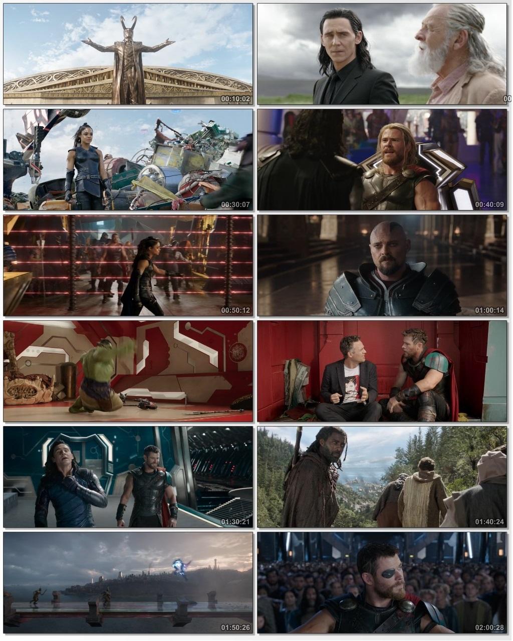 Thor Ragnarok (2017) ORG Dual Audio 720p BluRay x264 [Hindi