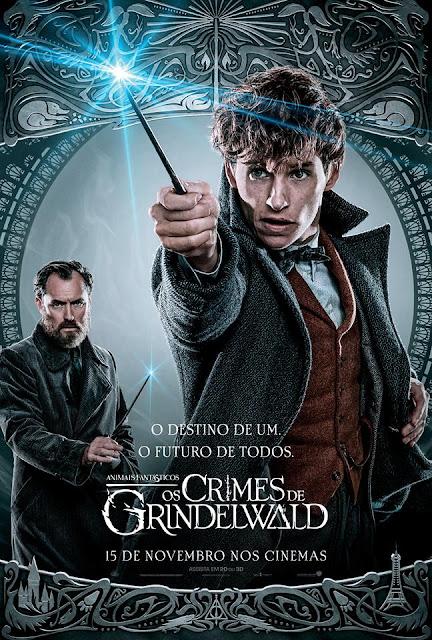 Os pôsteres nacionais dos personagens de 'Os Crimes de Grindelwald' | Newt Scamander e Alvo Dumbledore | Ordem da Fênix Brasileira