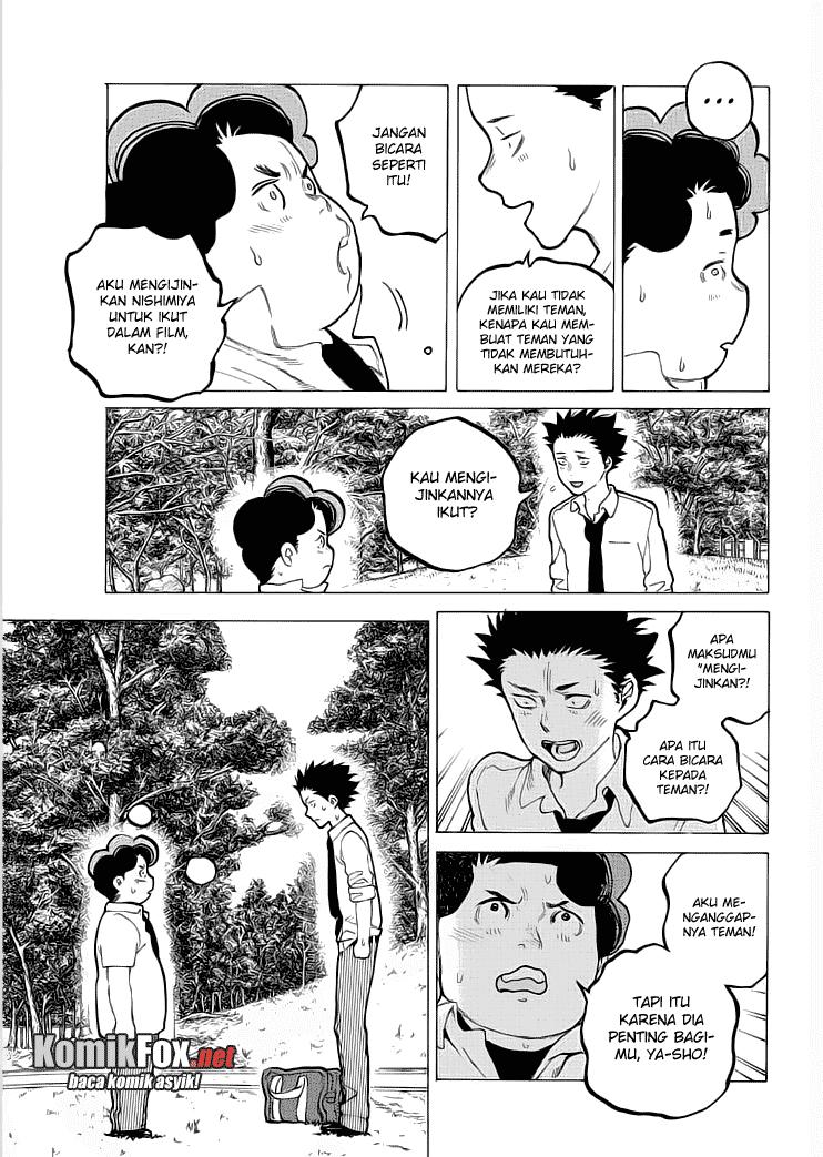 Koe no Katachi Chapter 36-8