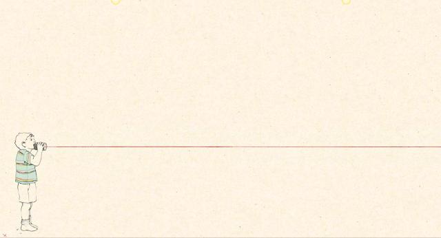"""El vacío y la soledad se puede apreciar en esta imagen de una página del cuento ilustrado por María Herguera """"Cuando no estás aquí"""""""