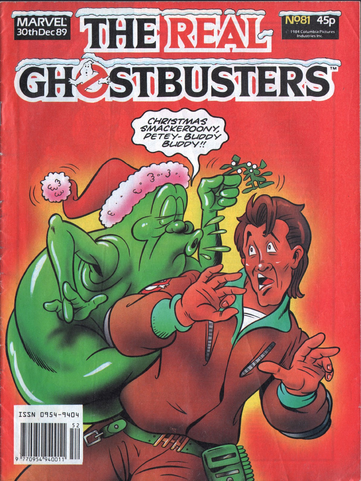 The Real Ghostbusters 81 Page 1