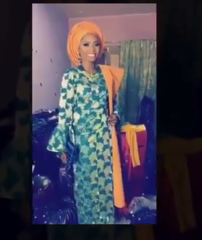 This Ghanaian Bride wore 20 outfits in 2 days for her wedding ...