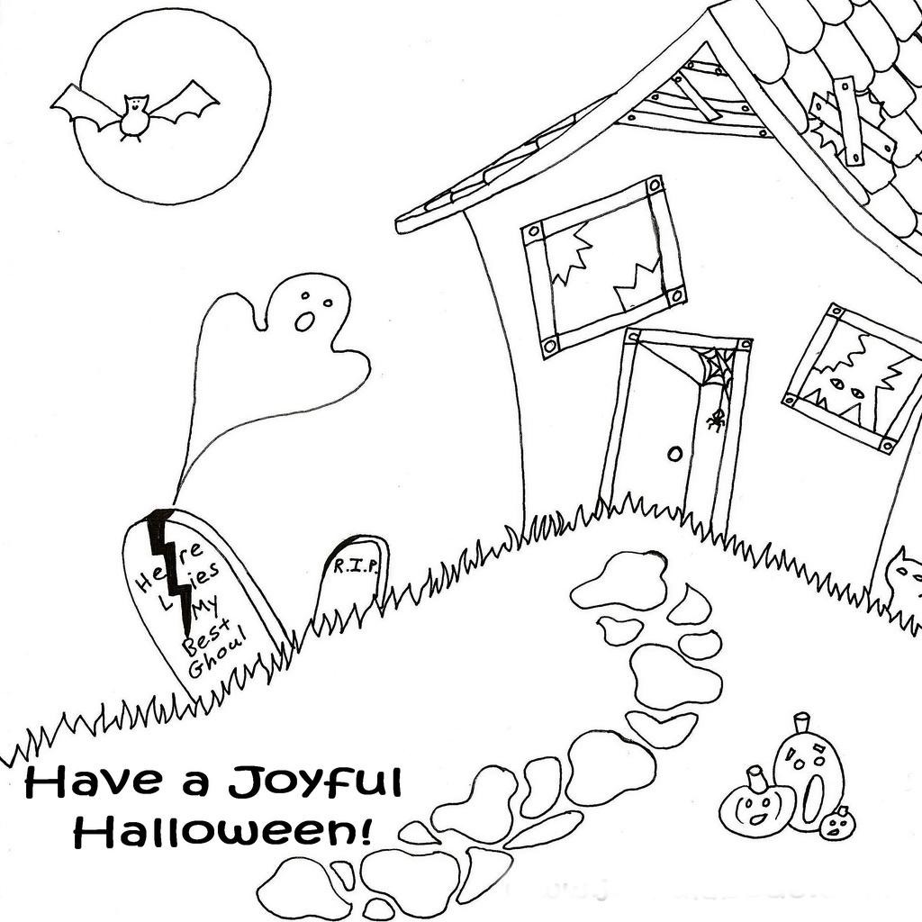 Halloween Printable December
