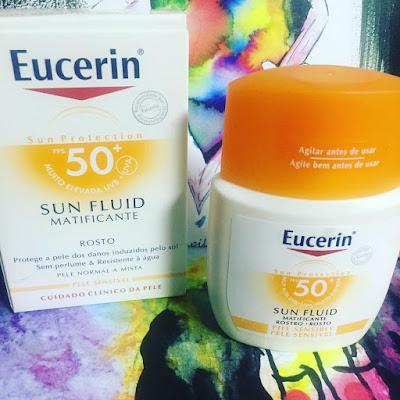Eucerin Sun Fluid Sensitive Protect FPS 50+  Protector Solar