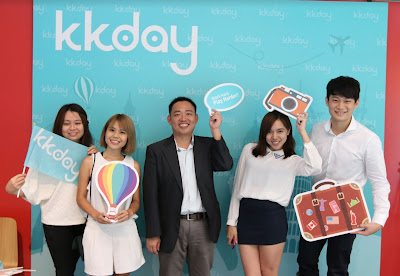 Source: KKday. Ming Chen, CEO of Asia's leading travel experience e-commerce platform KKday celebrates Singapore launch, and the #taiwantrippin digital campaign.