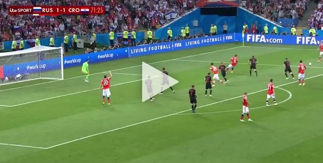 Cuplikan Gol : Rusia 2-2 Kroasia. Pen 3-4 (World Cup 2018)