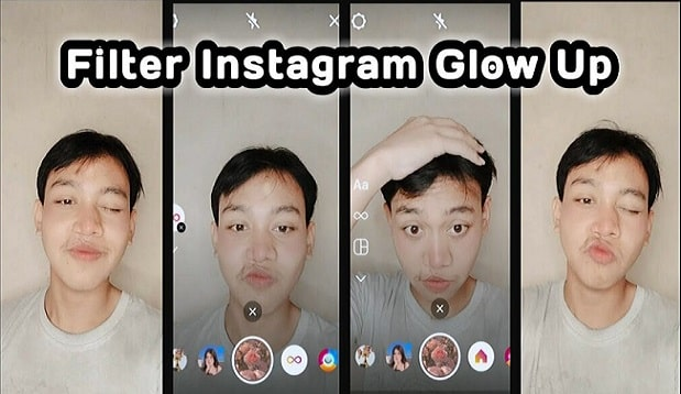 Nama Filter Stay With Me Glow Up Instagram