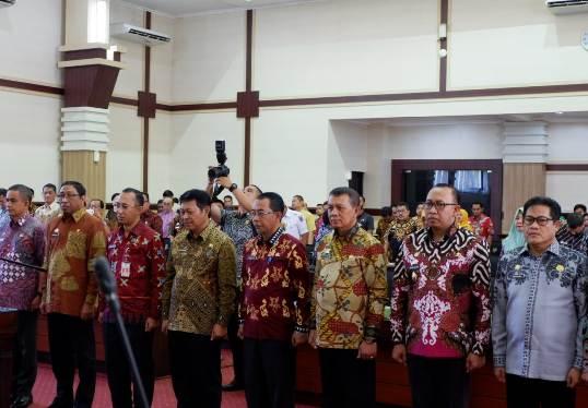 Sekda Selayar Jabat Ketua Bidang Ekbang, FORSEDASI SUL-SEL 2018 - 2021