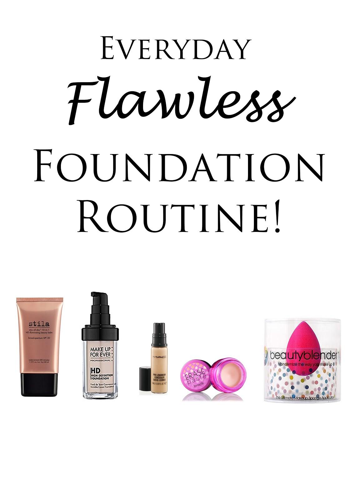 Everyday Flawless Foundation Tutorial!