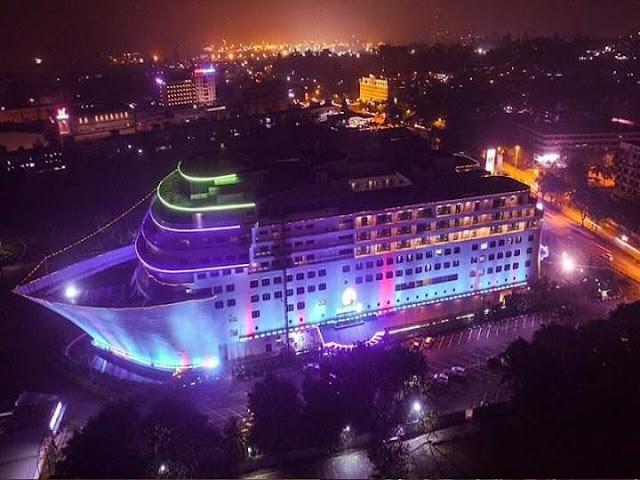 Pacific palace hotel Batam