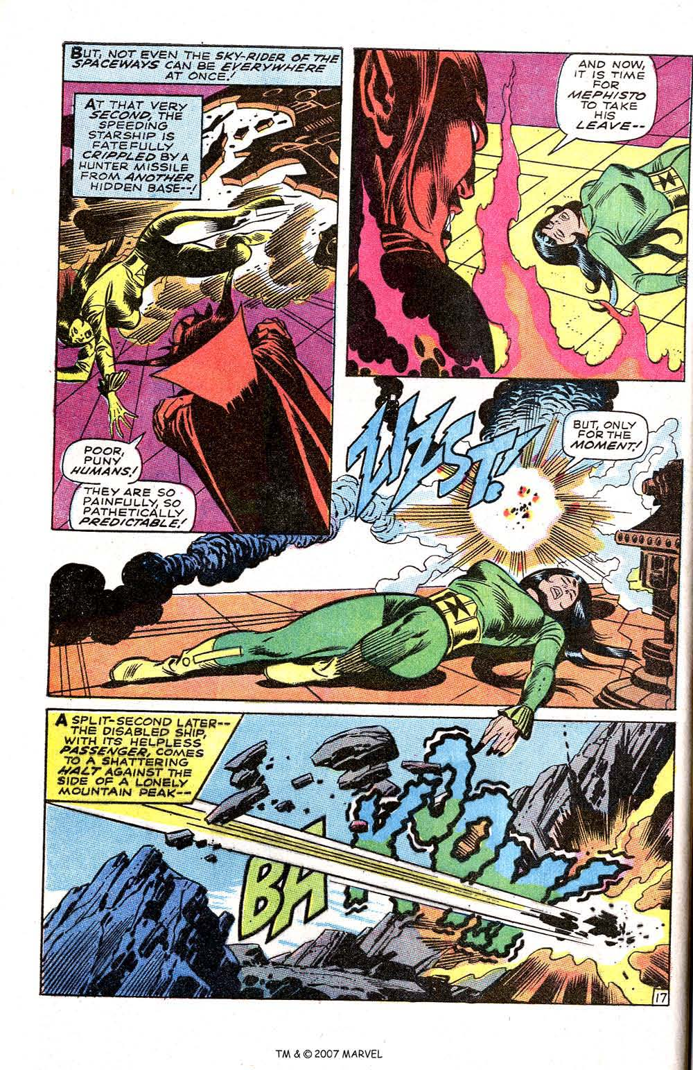 Silver Surfer (1968) issue 3 - Page 22