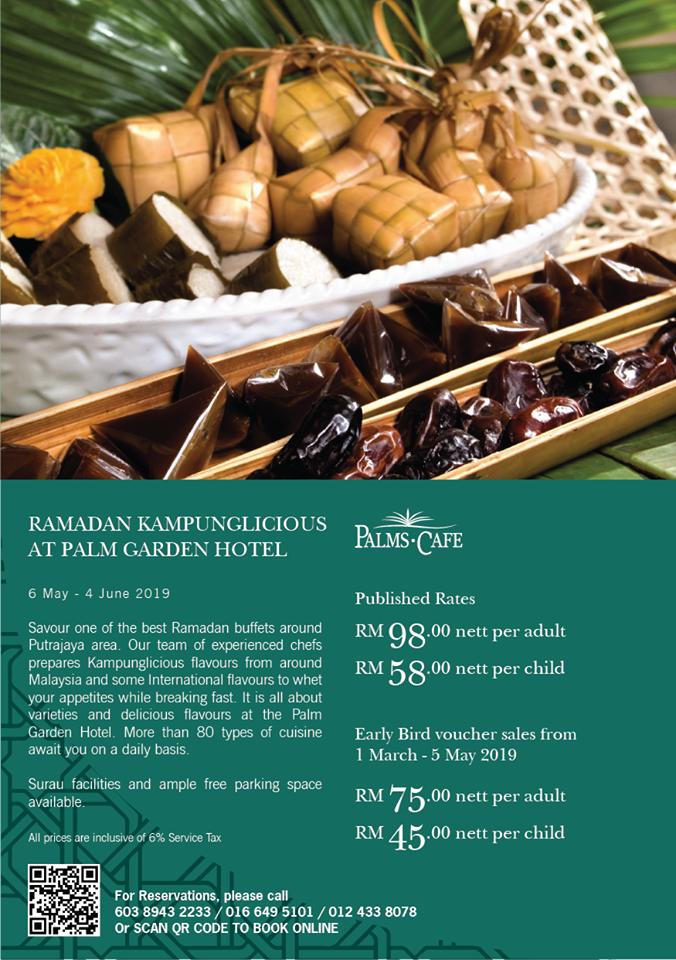 Palm Garden Hotel, IOI Resort City, Bufet ramadan di Putrajaya, Bufet Ramadan Murah, Harga Bufet Ramadan, Kampunglicious Ramadan, Rawlins Eats, Rawlins GLAM