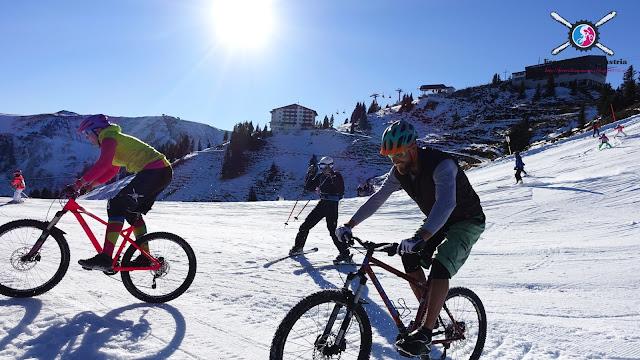 Trailbiken im Winter