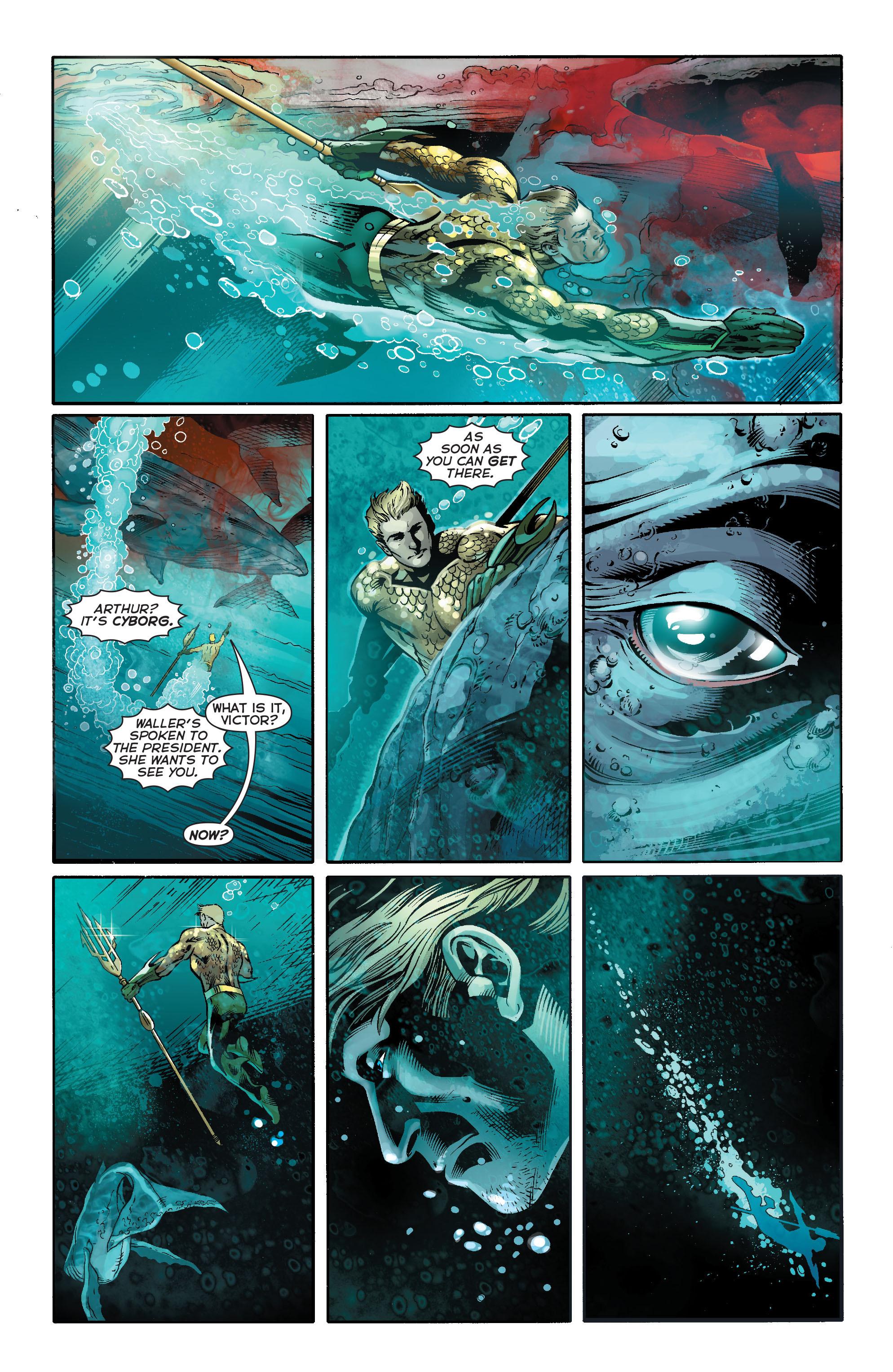 Read online Aquaman (2011) comic -  Issue #17 - 11