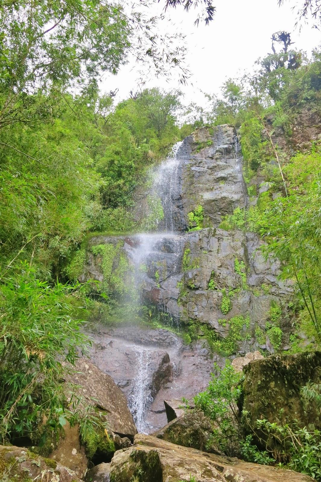 Cachoeira que Congela, nas proximidades de Urubici