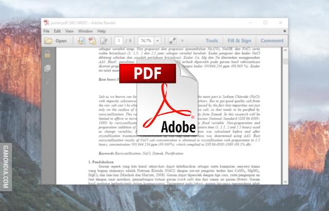 Cara Mebuka Secure dan Password File PDF dengan Mudah dan Cepat