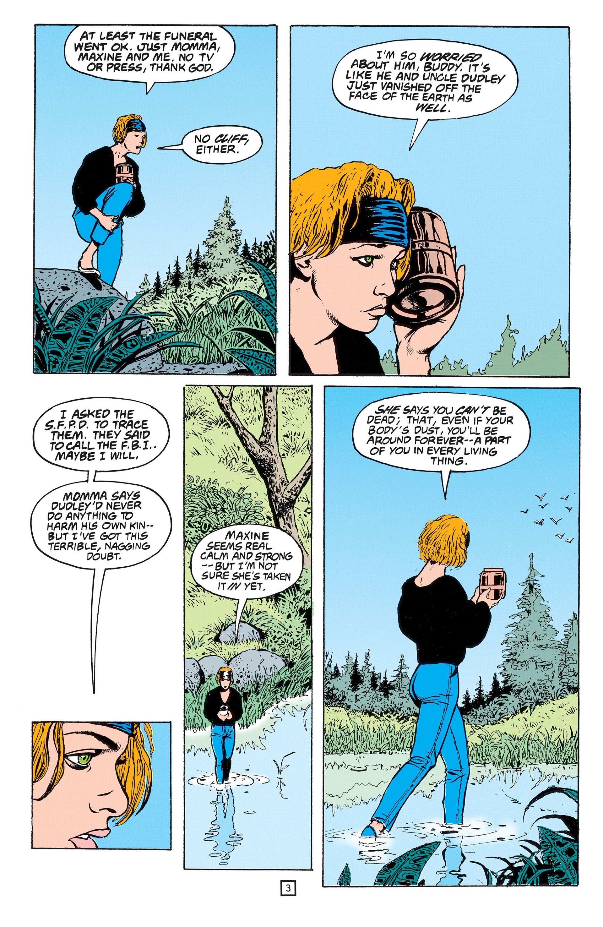 Read online Animal Man (1988) comic -  Issue #53 - 4