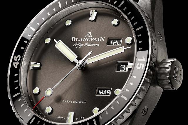 Blancpain Fifty Fathoms Bathyscaphe Quantième Annuel