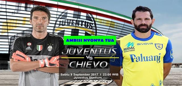 Prediksi Taruhan Bola 365 - Juventus vs Chievo 9 September 2017