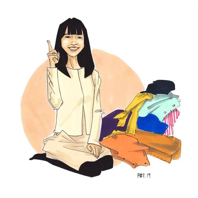 Seguramente has escuchado hablar de Marie Kondo y si no, aquí te comento quien es y que es lo que hace que la ha vuelto tan popular en los últimos meses.     Marie es una mujer japonesa, de tan solo 34 años, autora, empresaria y consultora de organización que ha escrito un libro, el cual la ha llevado a ser conocida a nivel mundial y que le ha permitido ahora llevar mucha organizacioón y alegria a muchos hogares a traves de su populars erie en Netflix.