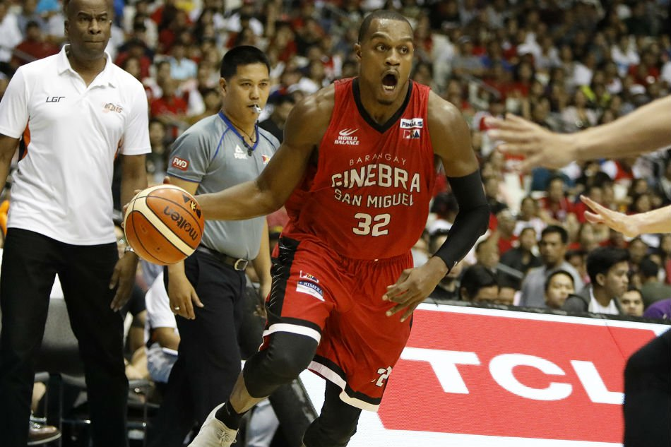 Justin Brownlee fails to save Ginebra against Meralco