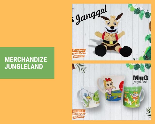 merchandize maskot jungleland adventure theme park sentul