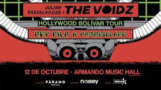 Concierto de JULIAN CASABLANCAS + THE VOIDZ en Bogotá