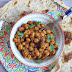 Garbanzos masala con curry rojo