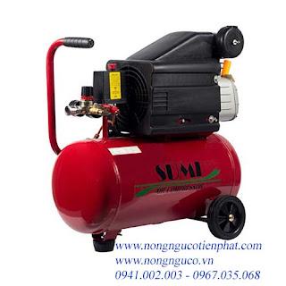 Máy nén khí, máy  bơm hơi 24 lít, máy bơm hơi mini, may bơm hơi giá rẻ, giá máy bơm hơi