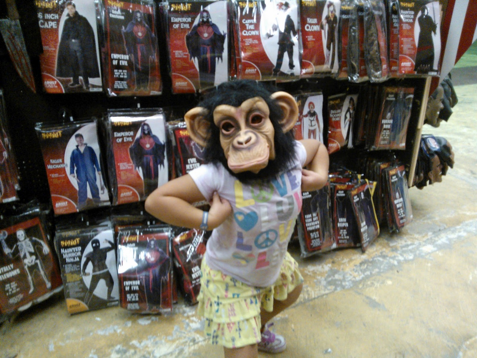 Spirit Halloween Shopping Review Mommy Katie