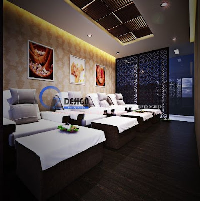 Đơn vị thiết kế thi công spa tại thành phố Hồ Chí Minh