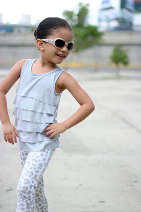 Leopard Little Girl