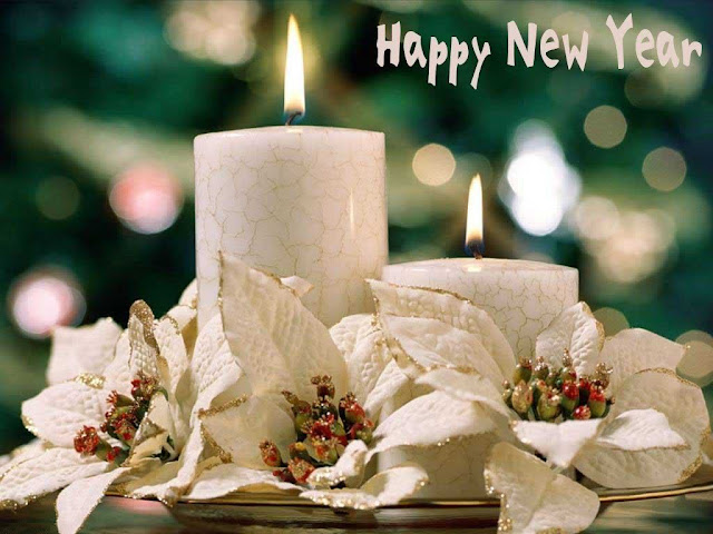 New Year Candle Image