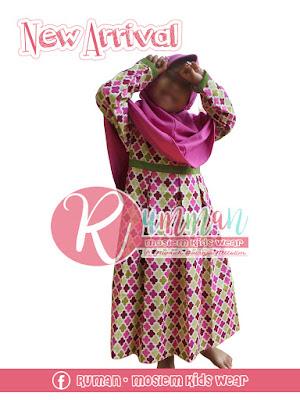 Gamis Anak Perempuan Pink