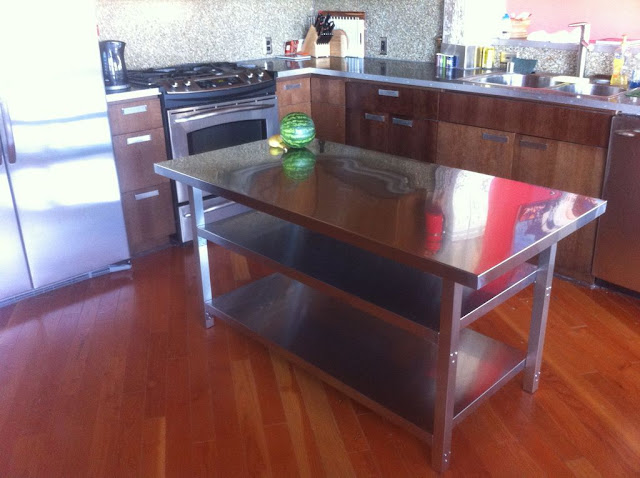 IKEA Hackers: Stainless Steel Kitchen Island Cart