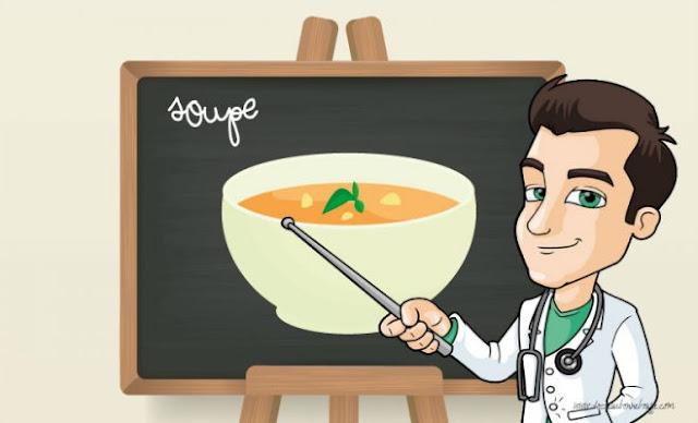 La soupe réduit les risques d'indigestion et de cancers