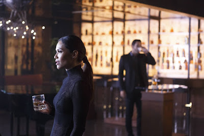 Tom Ellis and Lesley-Ann Brandt in Lucifer Season 2