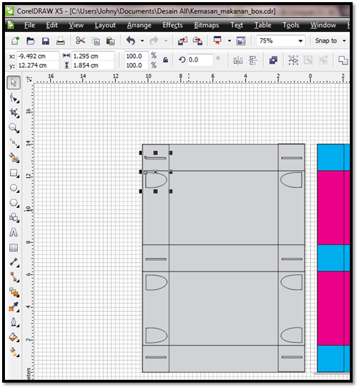 Desain Kemasancoreldraw: MEMBUAT DESAIN BOX KEMASAN MAKANAN DENGAN COREL DRAW