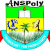 ANSPOLY Supplementary Pre-ND, ND & HND Admission Forms for 2017/2018 Academic Session