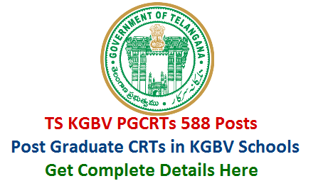 ts-kgbv-pgcrts-post-graduate-contract-resident-teachers-vacancies-recruitment-eligibility-qualificartions