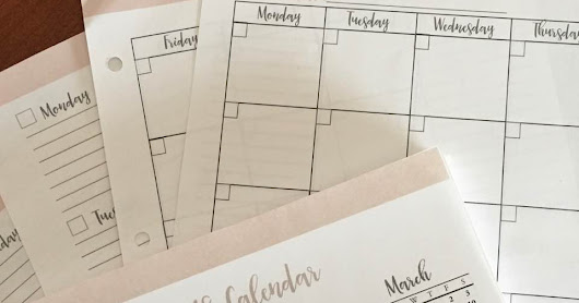 PLANNER CALENDAR BUNDLE - New for 2017-18!