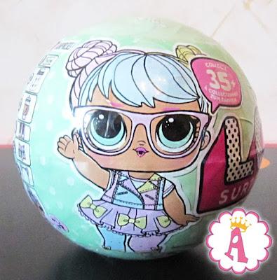 Какая кукла изображена на шаре LOL Surprise Series 2