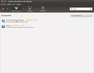 Navegador de ventanas Avant para Ubuntu Linux