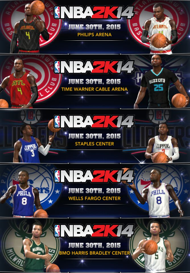 Update roster nba 2k14