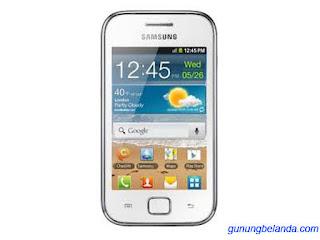 Cara Flashing Samsung Galaxy Ace Advance GT-S6800 Via Odin