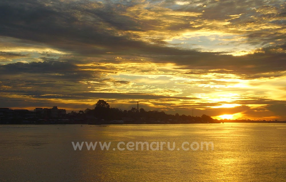 Longest River in West Kalimantan - Pontianak