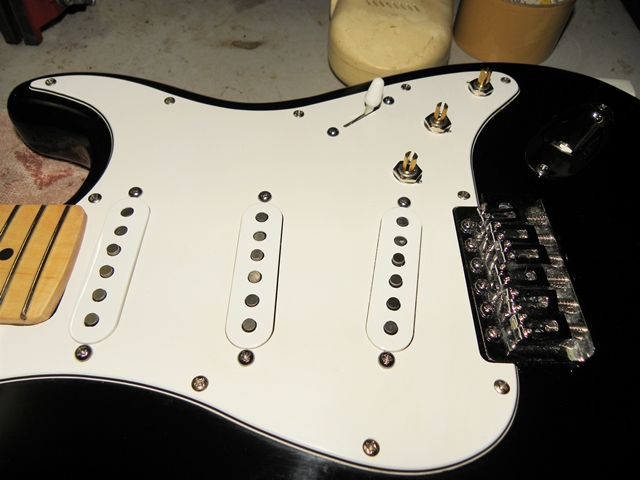 CA Gear Blog: Squier California Series Strat Upgrade: Finishing Touches