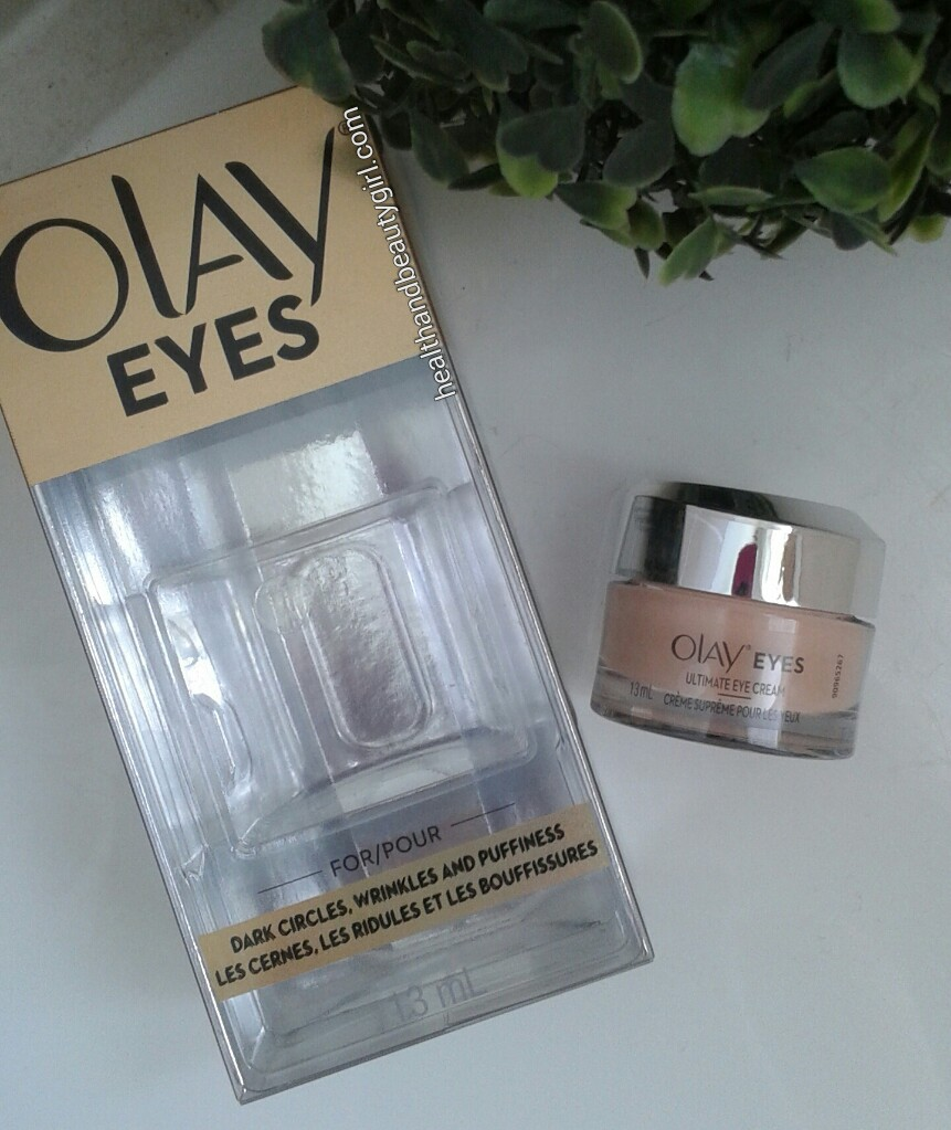 Health And Beauty Girl Olay Ultimate Eye Cream Review Bzzagent